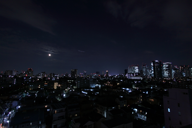 スーパームーン2014_9_9