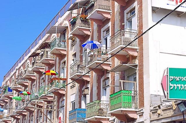 海外のアパート